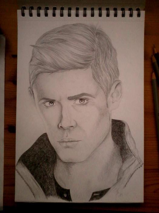 Jensen Ackles by J.K